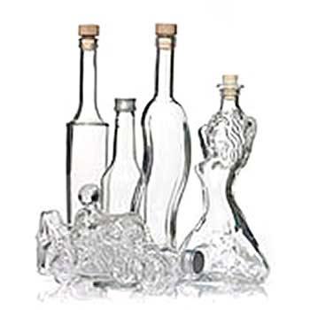 350ml bottiglie di vetro