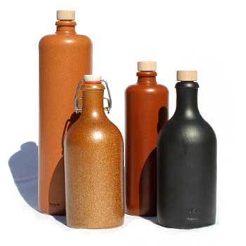 Stengodskrus & -flaskor