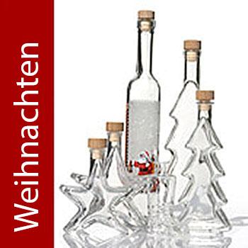Flaschen Weihnachten